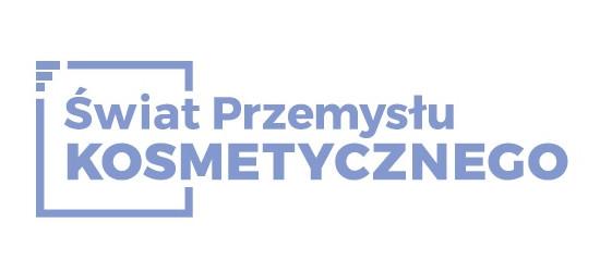 logo: PATRON MEDIALNY: <br><br> Świat Przemysłu Kosmetycznego